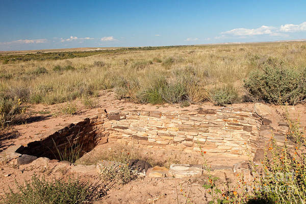 Photograph - Puerco Pueblo Petrified Forest National Park by Fred Stearns