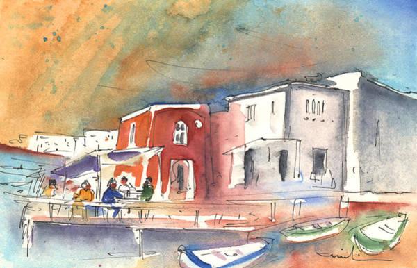 Painting - Puerto Carmen Harbour 01 by Miki De Goodaboom