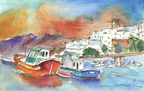 Painting - Puerto Carmen Harbour 03 by Miki De Goodaboom