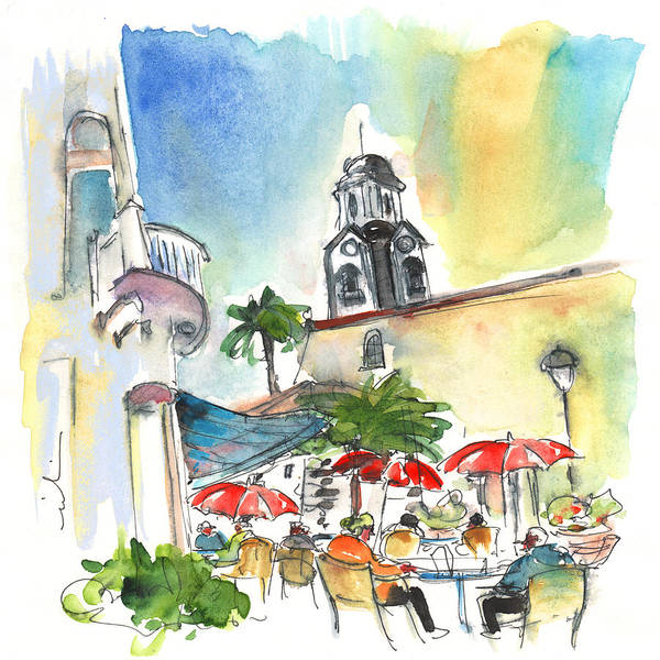 Painting - Puerto De La Cruz 01 by Miki De Goodaboom