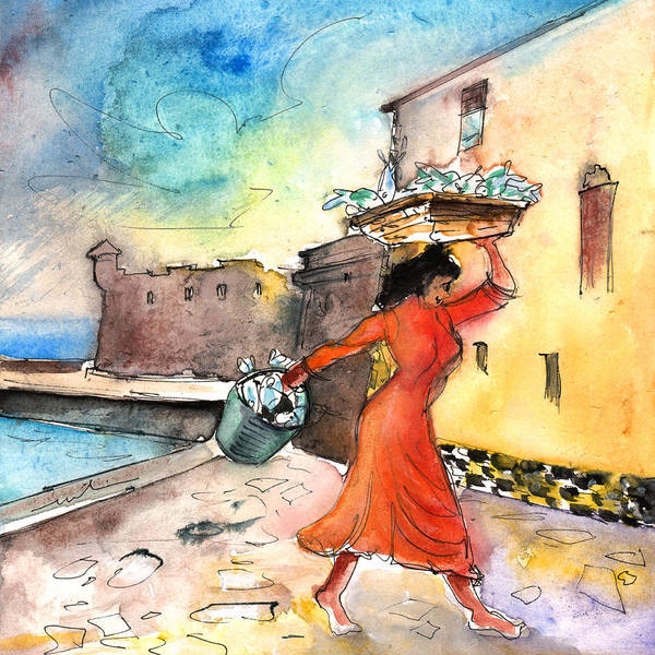 Painting - Puerto De La Cruz 03 by Miki De Goodaboom