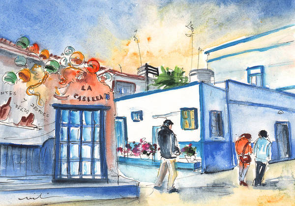 Painting - Puerto De Las Nieves 01 by Miki De Goodaboom