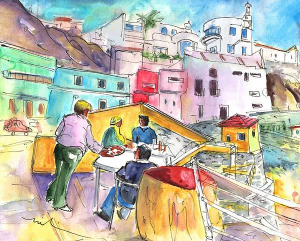 Painting - Puerto De Sardina 01 by Miki De Goodaboom