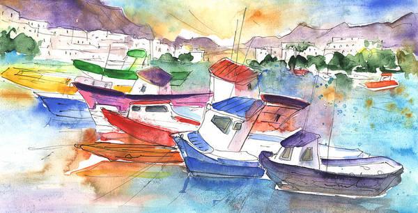 Painting - Puerto Mogan 02 by Miki De Goodaboom
