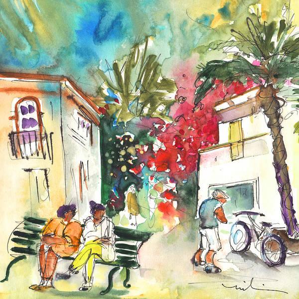 Painting - Puerto Mogan 08 by Miki De Goodaboom