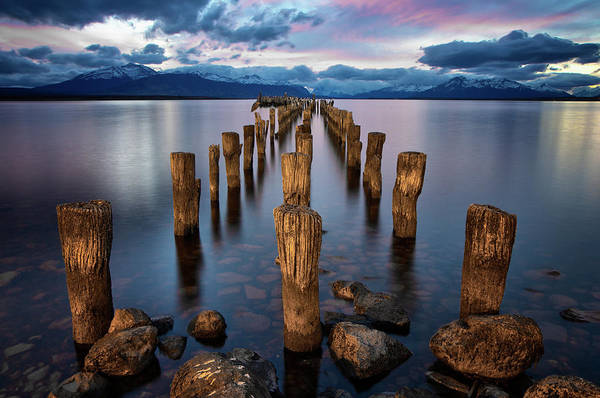 Pier Photograph - Puerto Natales Pier by Jimmy Mcintyre
