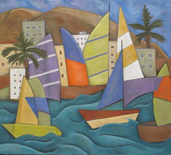 Painting - Puerto Nuevo by Trish Toro