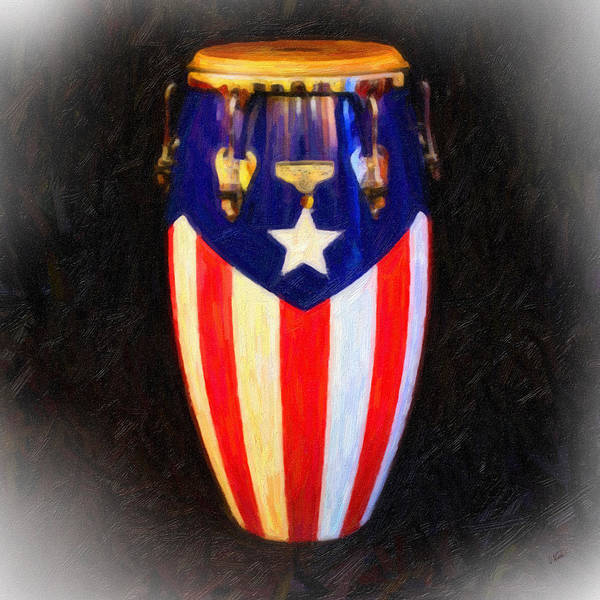 Painting - Puerto Rican Bomba by Dean Wittle