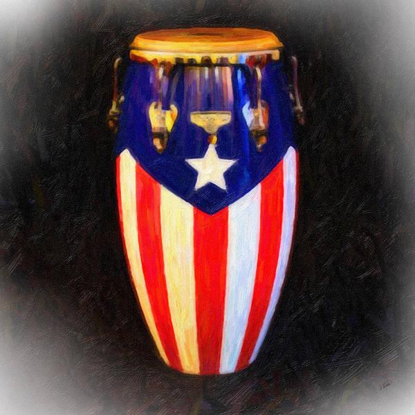Puerto Rican Bomba Art Print