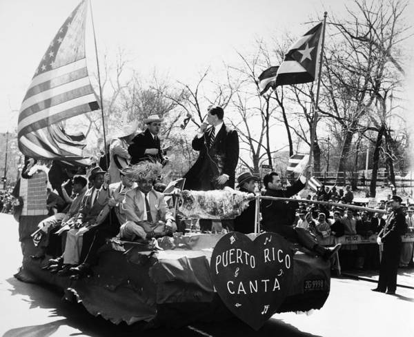 Photograph - Puerto Rican Day Parade by Granger