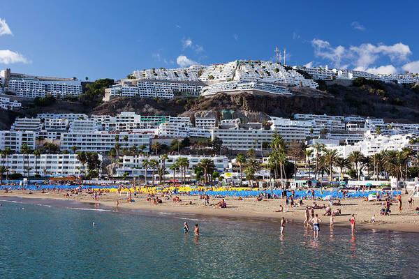 Grand Hotel Photograph - Puerto Rico Beach by Jorg Greuel