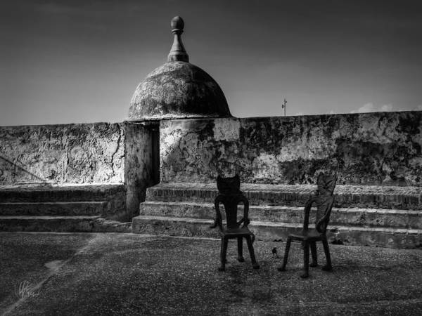 Sentry Box Photograph - Puerto Rico - Old San Juan 001 by Lance Vaughn