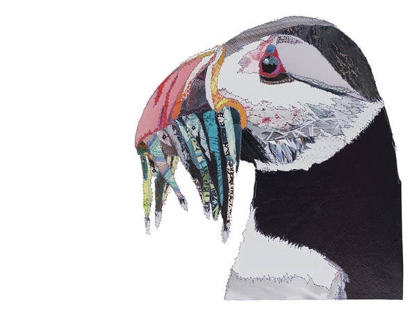 Stitch Painting - Puffin by MGL Meiklejohn Graphics Licensing