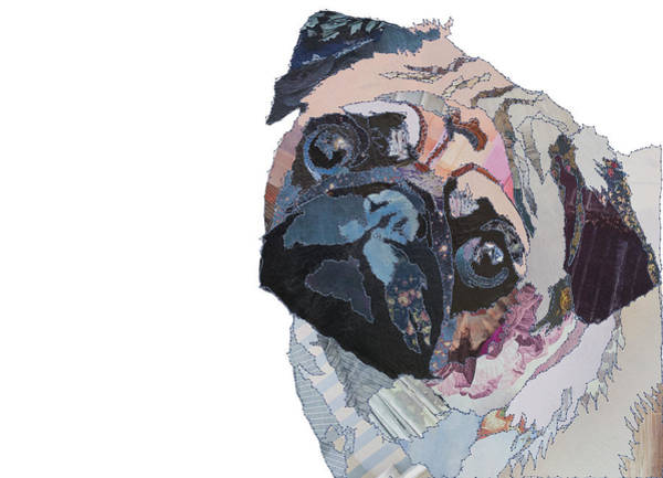 Stitch Painting - Pug by MGL Meiklejohn Graphics Licensing