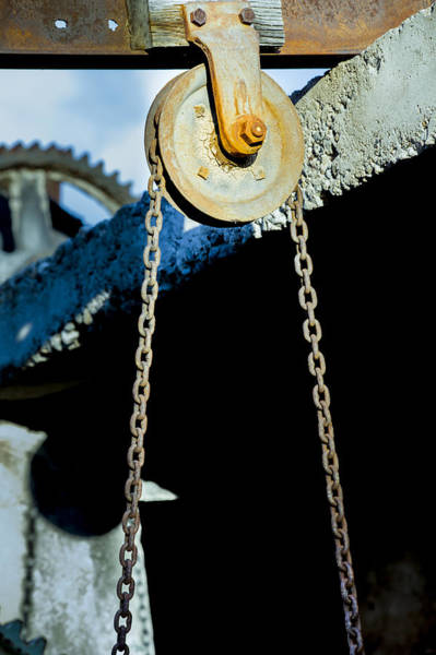 Photograph - Pulley by Fran Riley