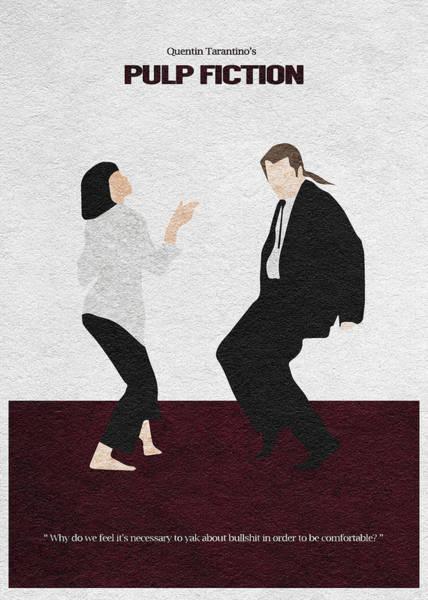 Dancing Digital Art - Pulp Fiction 2 by Inspirowl Design