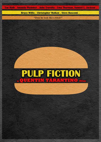 L Digital Art - Pulp Fiction by Inspirowl Design