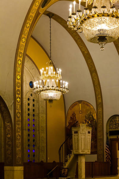Photograph - Pulpit At St Sophia by Ed Gleichman