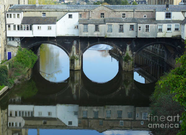 Photograph - Pulteney Bridge In Bath by Paul Cowan