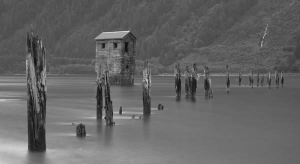 Photograph - Pump House Pier by Ed Boudreau