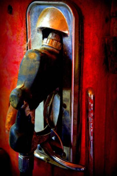 Pump Photograph - Pump Up The Vintage by Karen Wiles