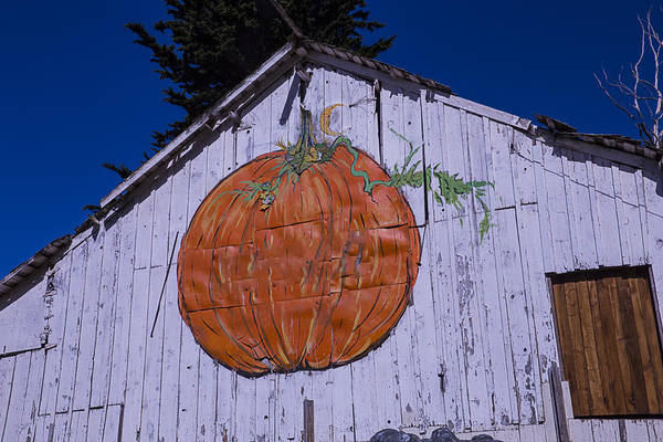Wall Art - Photograph - Pumpkin Barn by Garry Gay