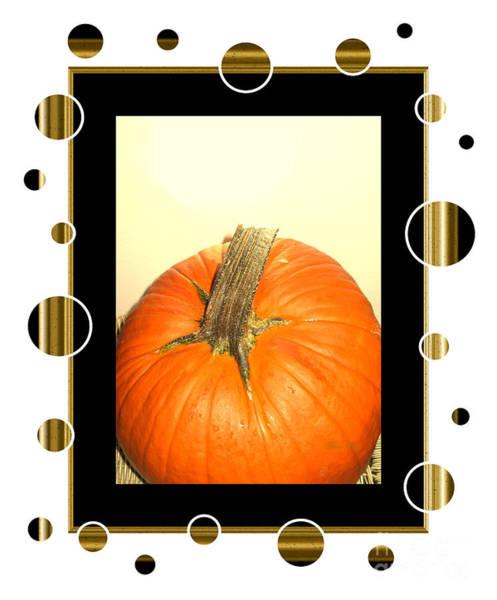 Pumpkin Card Art Print