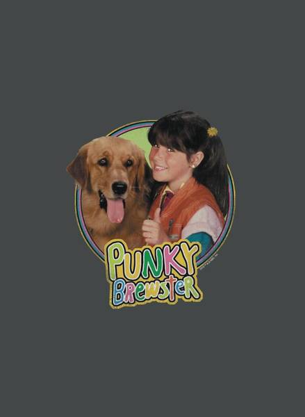 Shows Digital Art - Punky Brewster - Punky And Brandon by Brand A