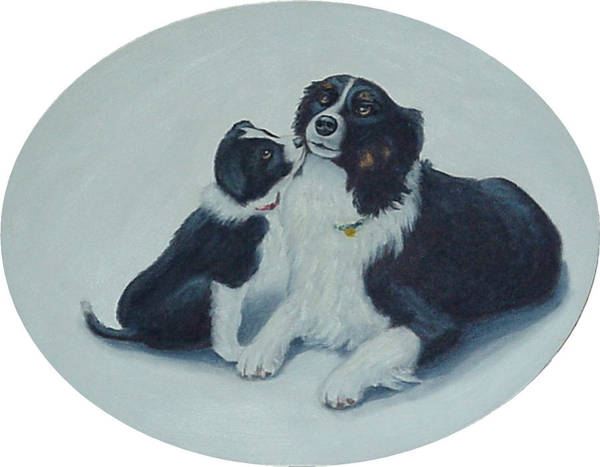 Puppy Kisses Art Print
