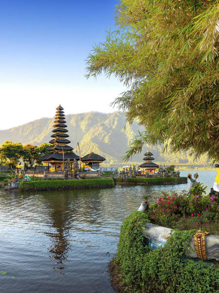Indonesian Culture Photograph - Pura Ulun Danu Bratan, Bali by Afriandi