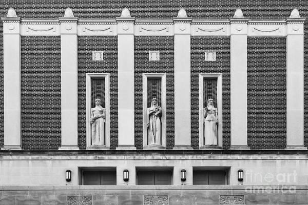 Staff Wall Art - Photograph - Purdue University Elliott Hall by University Icons