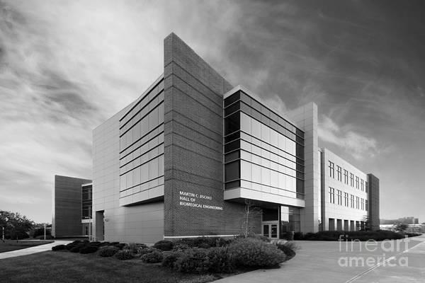 Biomedical Engineering Wall Art - Photograph - Purdue University Jischke Hall Of Biomedical Engineering by University Icons