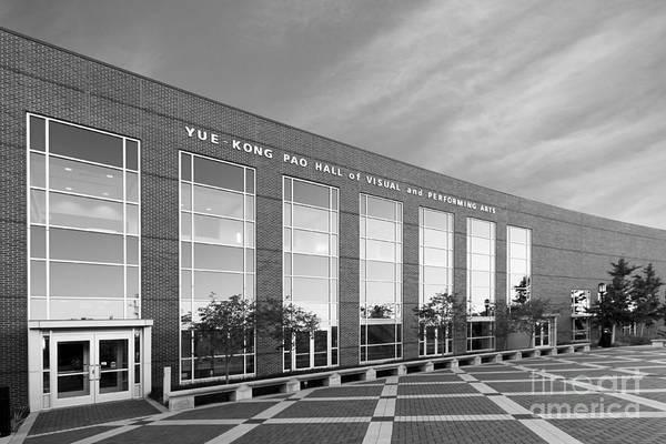 Photograph - Purdue University Pao Hall  by University Icons
