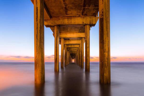 Scripps Pier Photograph - Pure Bliss by Adam Gaeth