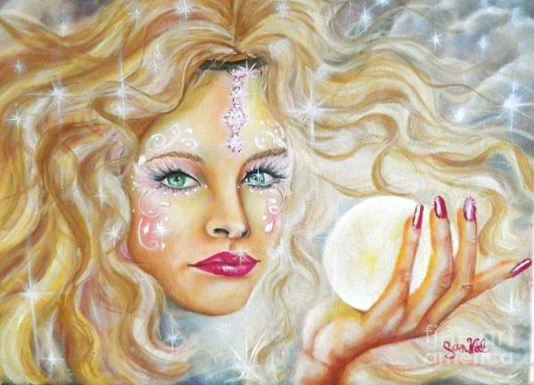 Wall Art - Painting - Pure Fantasy by Sandra Valentini