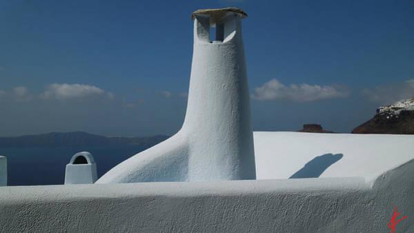 Photograph - Pure Fine Santorini Architecture Greece by Colette V Hera  Guggenheim