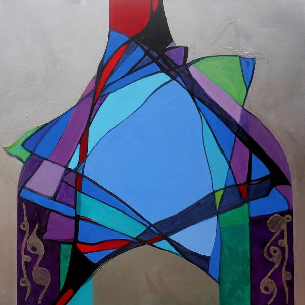 Painting - Purim Feast Of Lots by Marlene Burns