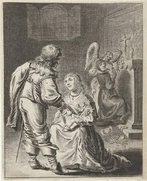 Purity And Vanity, Pieter Nolpe Art Print