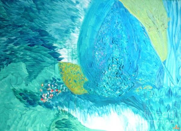 Painting - Purity by Ilona Svetluska