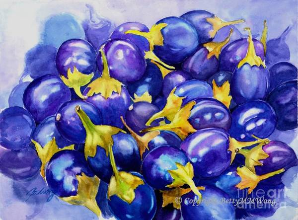 Purple Abundance Art Print