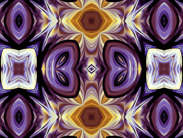 Algorithm Digital Art - Purple Boudoir by Georgiana Romanovna