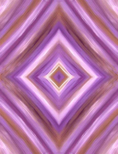 Painting - Purple Dreams Diamond  by Barbara St Jean