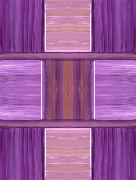 Painting - Purple Dreams Squares by Barbara St Jean