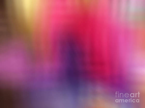 Digital Art - Purple Flame by Anne Cameron Cutri