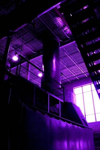 Photograph - Purple Generator by Cleaster Cotton