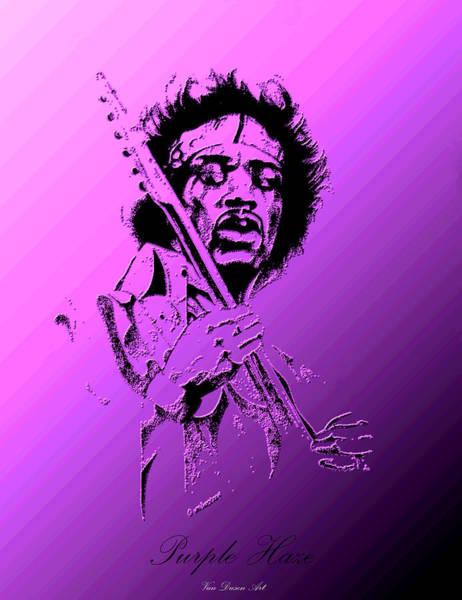 Purple Haze Digital Art - Purple Haze by Gordon Van Dusen
