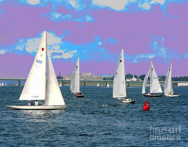 Photograph - Purple Haze by Larry Oskin