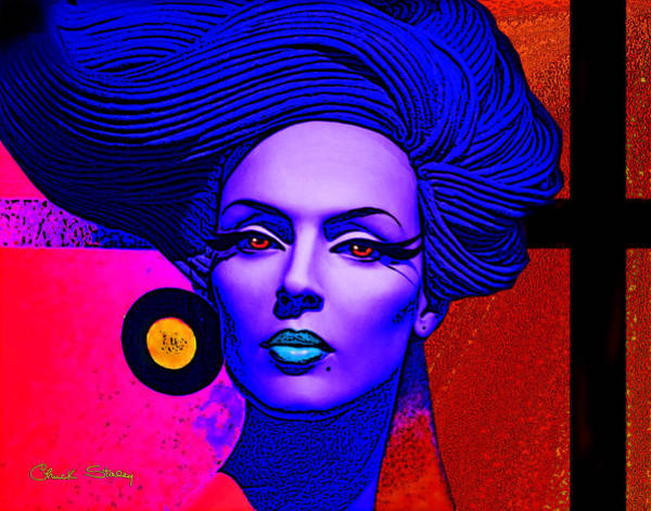 Photograph - Purple Lady by Chuck Staley
