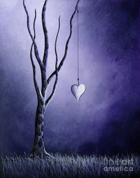 Wall Art - Painting - Purple Love By Shawna Erback by Erback Art