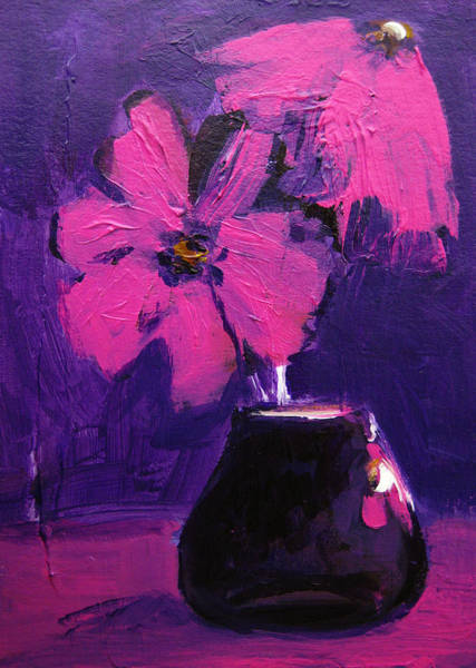 Painting - Purple Madness by Patricia Awapara